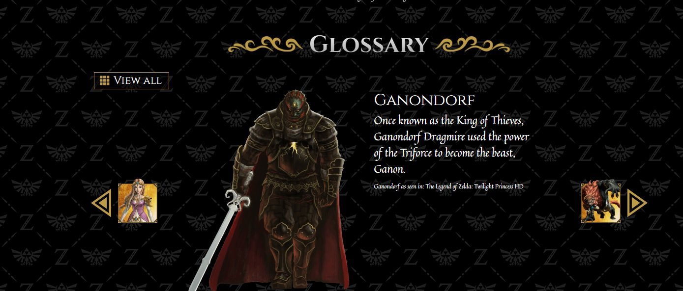 My Ganondorf has a last name, it's D-R-A-G-M-I-R-E