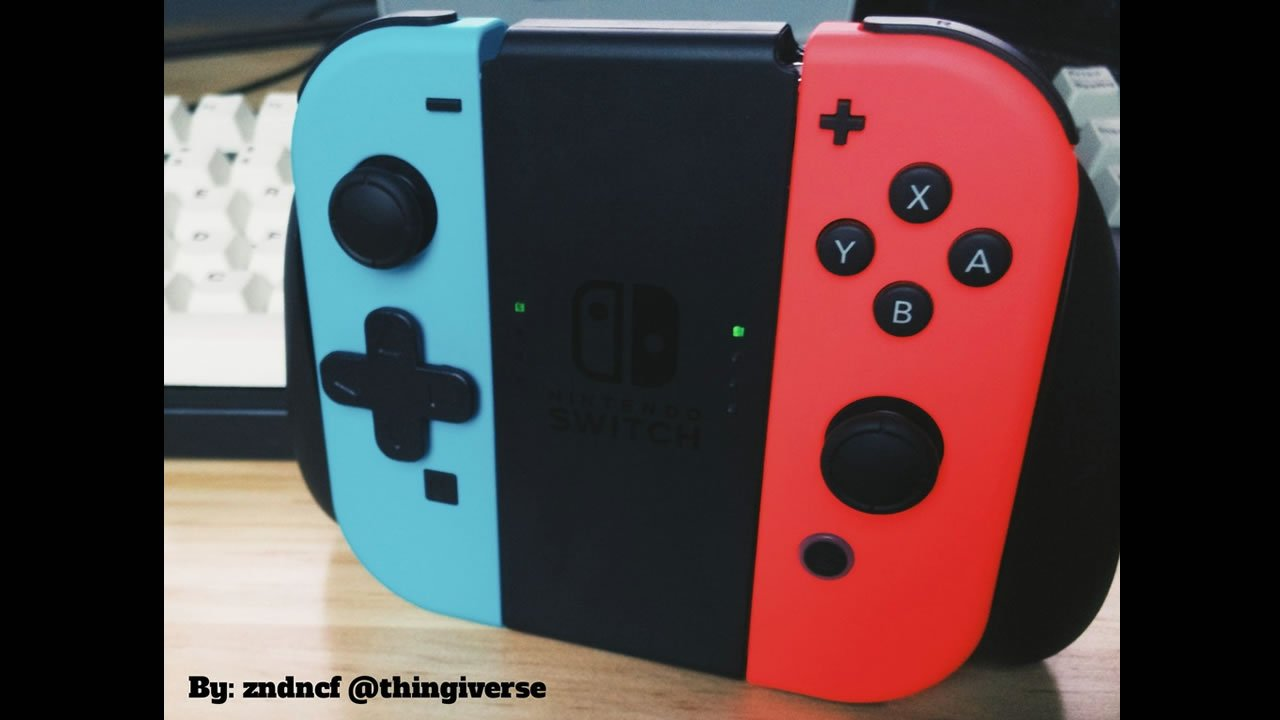 the best free 3d printed nintendo switch accessories modojo