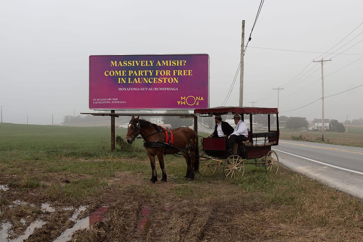 Amish Billboard