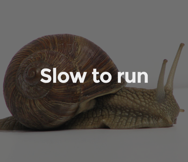 Acceptance tests are slow to run
