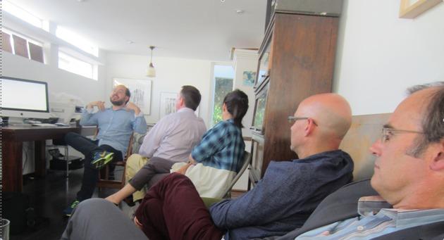 Bonillas studio visit