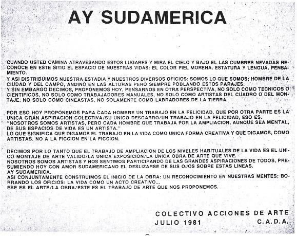 Ay sudamerica