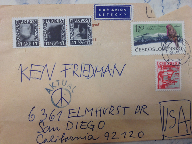 Knizak to friedman  silverman archive