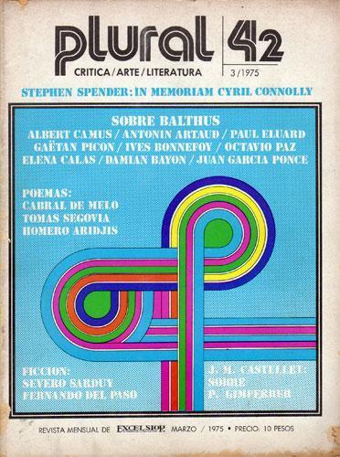 Revista plural march 1975