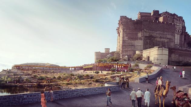 10b mehernagarh fort precinct visitors center overview