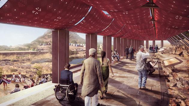 10a mehernagarh fort precinct visitors center approach ramp