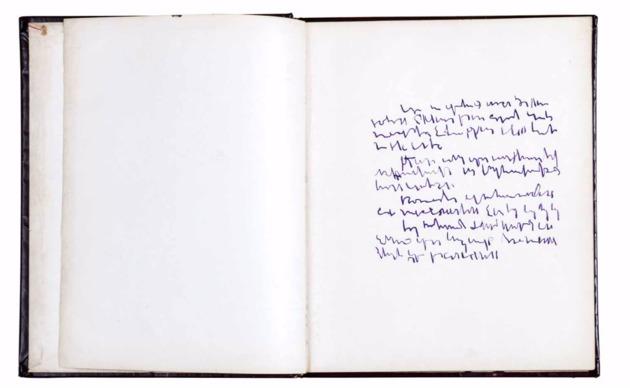 Mirtha dermisache. libro n%c2%ba 1  1967. cortes%c3%ada archivo mirtha dermisache %28amd%29
