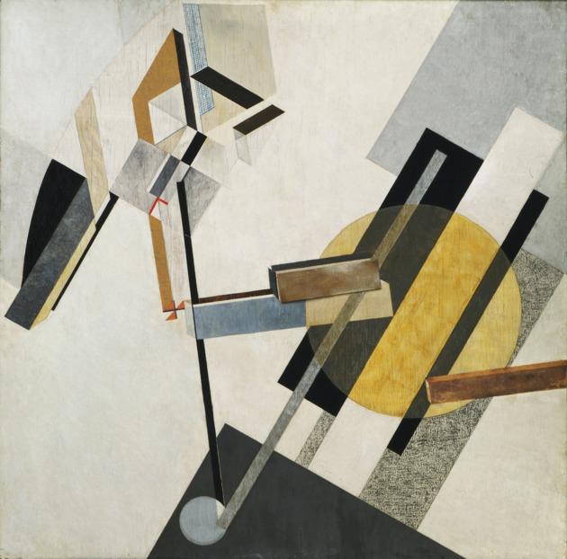 Lissitzky proun 19d