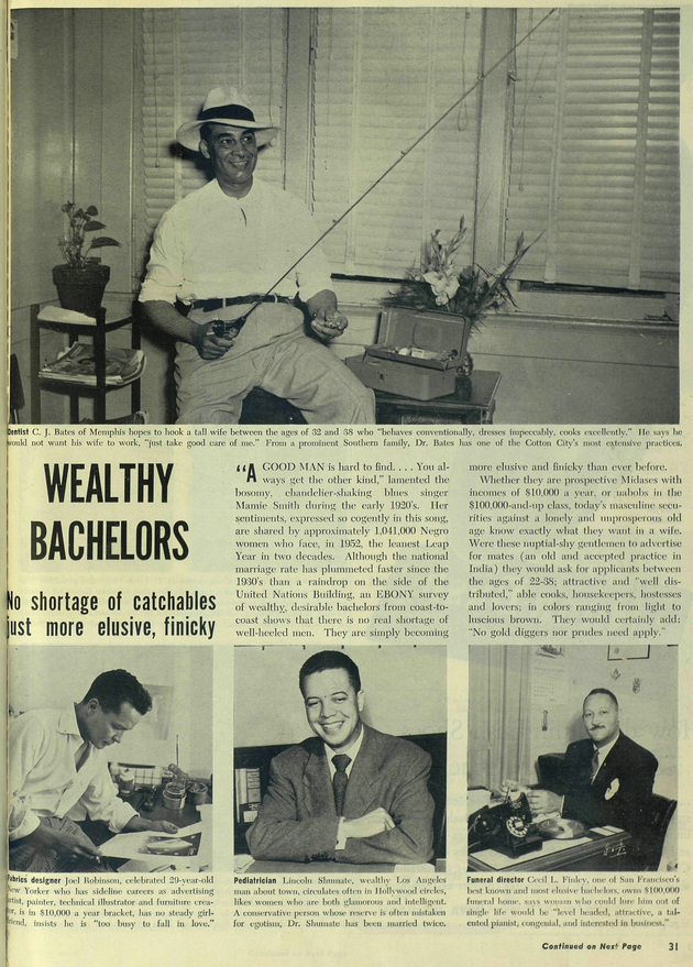 10 ebony oct1952 wealthy bachelors p.31