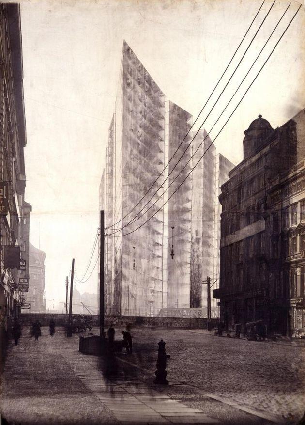 15 mies archive csm mies van der rohe wabe hochhaus friedrichstrasse 1922 029e875e9d