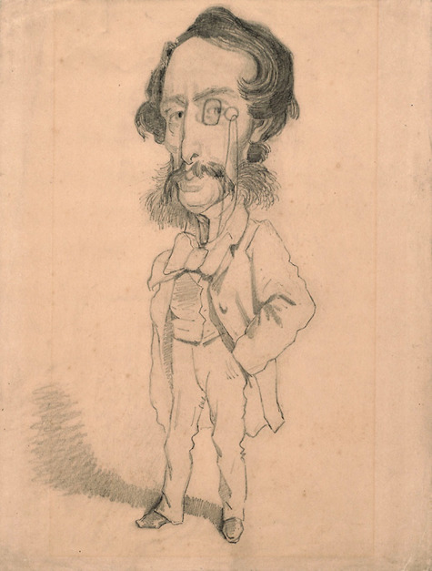 Fig.2.1  10x15 ex013 122 caricature of mario uchard
