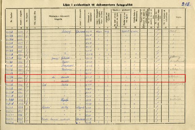 Fig.11 regjistri iv fondi marubi fq 218