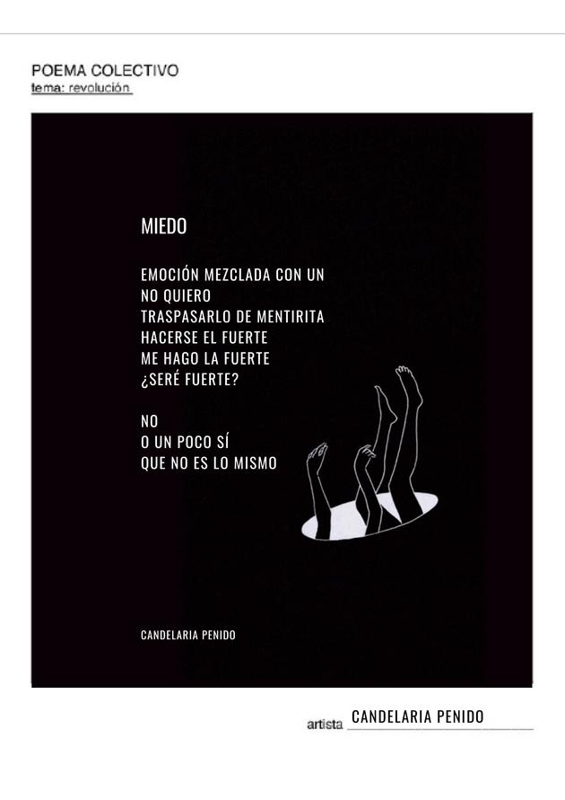 Poema colectivo 2020  candelaria penido   miedo copy