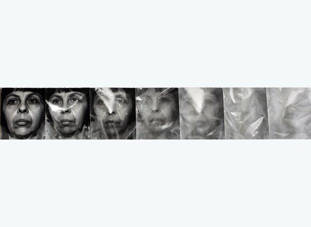 Towards white slef portrait in 7 sequences 1975
