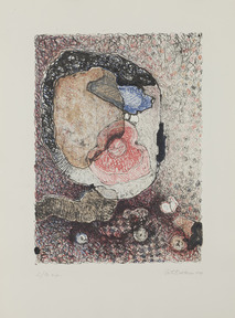 Geta bratescu portraits of medea 1979 lithograph