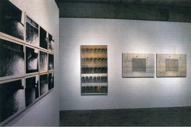 Installation view of to the 1970s %e2%80%93 turning point of photography   art %e2%80%93 copying reflection and projection at yumiko chiba