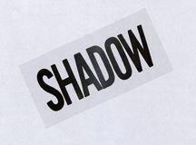 Spatial poem no. 4 shadow transparency