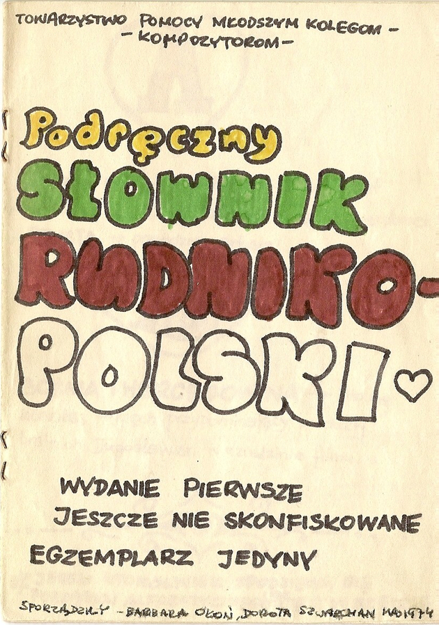 Rudnik polish dictionary   cover