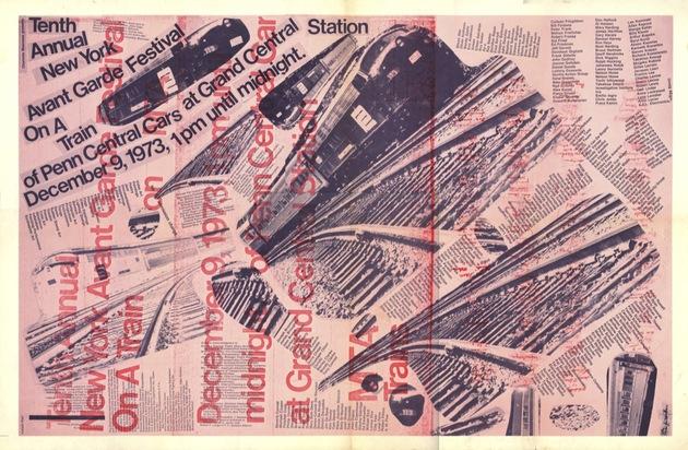 Fig 8 10th avant garde festival poster