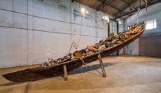 Subodh gupta what does the vessel contain  that the river does not %282012%29 courtesy kochi muziris biennale