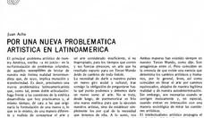 Por una nueva problematica av1 1973