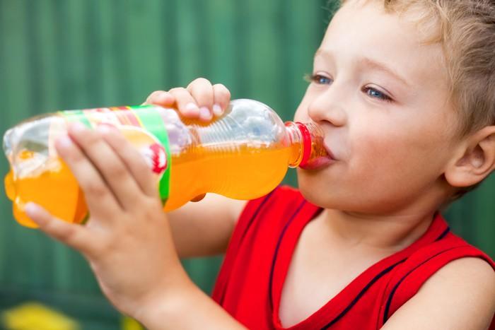 Daily Sodas + Childhood Obesity