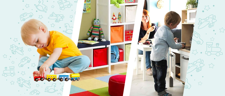 Fun functional play area for your child