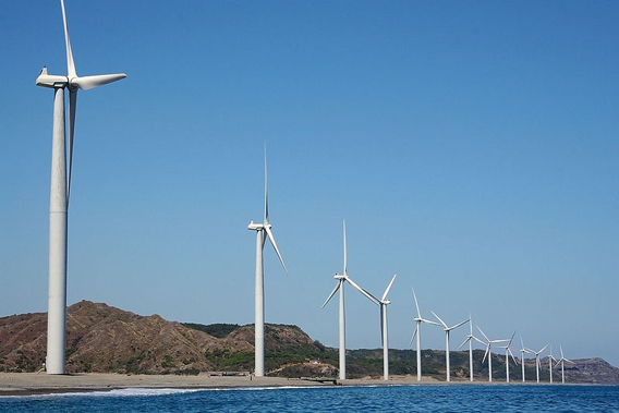 Bangui Windfarm in the Philippines. Photo by: John Ryan Cordova.