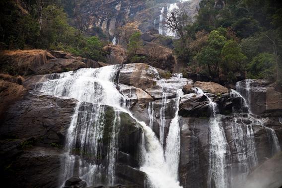 Kihansi Falls. Photo courtesy of Global Wildlife Conservation.