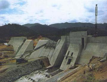 Kihansi River dam. Photo by: UNESCO.