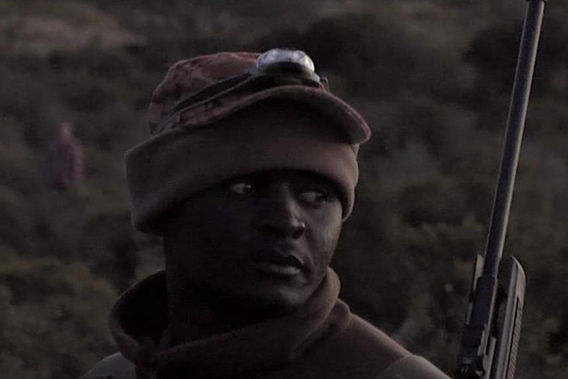Wildlife ranger on an anti-poaching team. Image courtesy of Anne Goddard.
