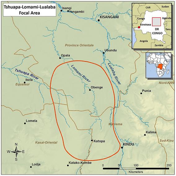 Map of TL2 region.