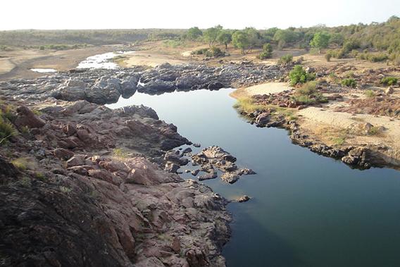 Gonarezhou National Park in Zimbabwe.