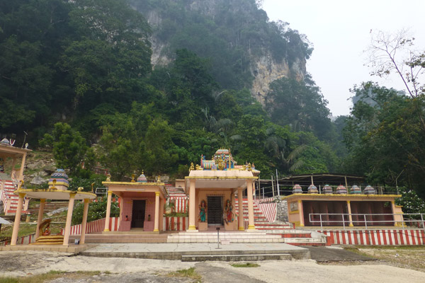 A small Hindu temple on the north side of Kanthan hill. Photo: Liz Price.