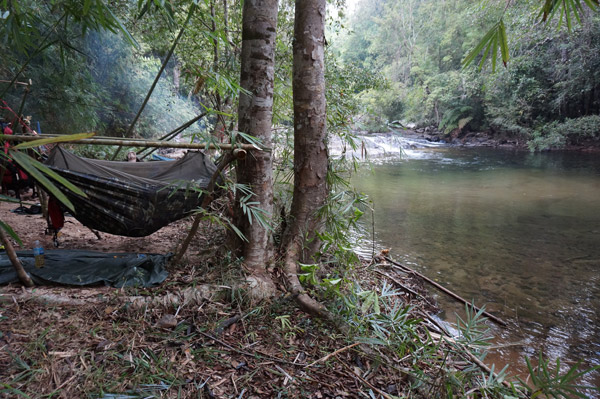 Campamento en D'darr Poom Chop. Foto de: Habitat ID.