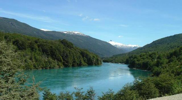 The Baker River in Chile's Patagonia region. This is one of two rivers which would have been dammed by the HidroAysén project. Photo by: Jorge Morales F.