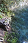 Turquoise blue water of Bonito's 'Mystery Lagoon', a collapsed limestone cave