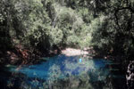 Turquoise blue water of Bonito's 'Mystery Lagoon' [bonito_0042]