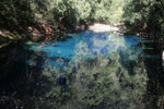 Crystal clear water of Bonito's Lagoa Misteriosa