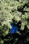Crystal clear water of Bonito's 'Mystery Lagoon', a limestone sinkhole