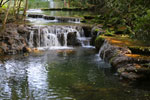 Waterfall at the Estancia Mimosa in Bonito