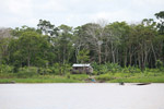 Home on the banks of the Amazon river [colombia_0175]