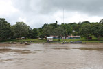 Town of Macedonia in the Colombian Amazon