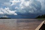 Thunderhead over the Amazon River