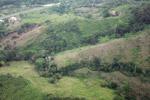 Mosaic deforestation for cattle pasture outside of Capurgana
