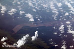 Aerial view of oil palm plantations on peatlands in Sumatra [java_0018]