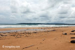 Waves breaking on a beach in Ujung Kulon [java_0316]