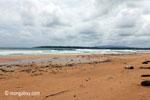 Waves breaking on a beach in Ujung Kulon [java_0316]