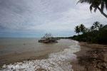 Fishing boat in Sunur