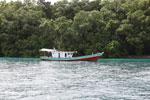 Boat off Peucang Island [java_0409]